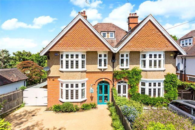 Thumbnail Semi-detached house for sale in Birling Road, Tunbridge Wells, Kent