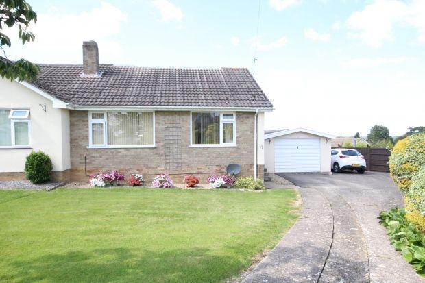 Thumbnail Semi-detached bungalow for sale in Edgebury, Woolavington, Bridgwater