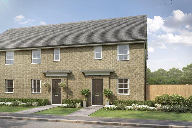 "Thumbnail Semi-detached house for sale in ""Folkestone"" at Stretton Road, Stretton, Warrington"