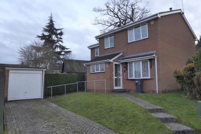 Thumbnail Detached house for sale in Stockhill Drive, Rednal, Birmingham