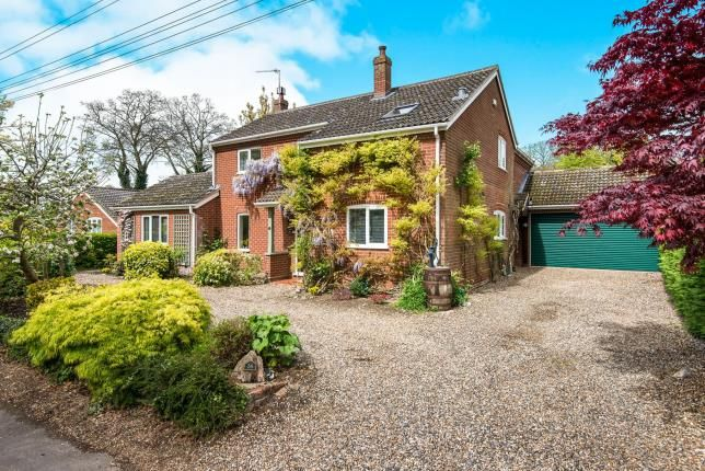 Thumbnail Detached house for sale in Postwick, Norwich, Norfolk