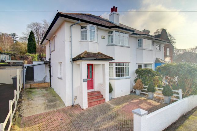 Thumbnail Semi-detached house for sale in Hampden Road, High Wycombe, Buckinghamshire