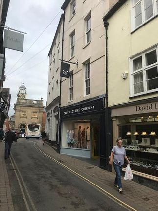 Retail premises for sale in King Street, Ludlow