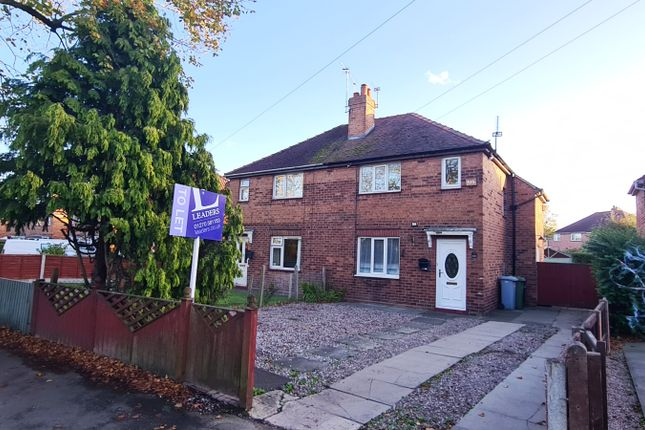 3 bed semi-detached house to rent in Bradfield Road, Crewe CW1
