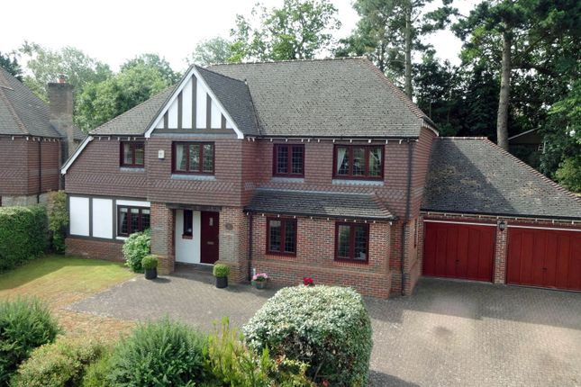 Thumbnail Detached house for sale in Claremount Gardens, Epsom