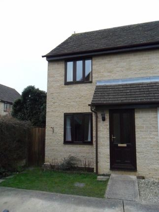 Thumbnail Semi-detached house to rent in Manor Road, Cogges, Witney