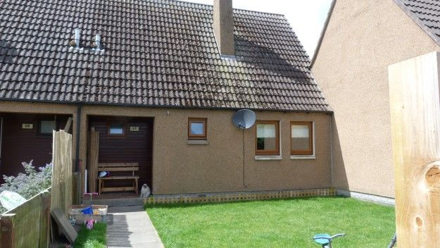 Thumbnail Terraced house to rent in 57 Boyd Anderson Drive, Lossiemouth