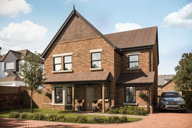 Thumbnail 4 bedroom detached house for sale in Plot 1 Gayton Chase, Gayton Road, Lower Heswall