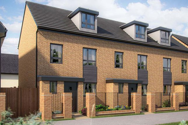 """Thumbnail 3 bed town house for sale in """"The Willen"""" at Limousin Avenue, Whitehouse, Milton Keynes"""