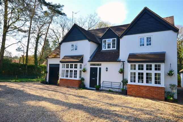Thumbnail Detached house for sale in Frensham Vale, Lower Bourne, Farnham