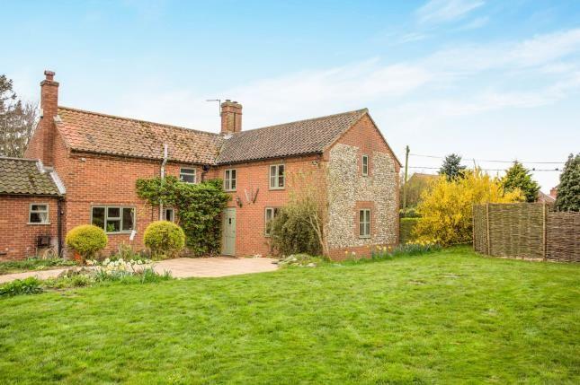 Thumbnail Detached house for sale in North Tuddenham, Dereham, Norfolk