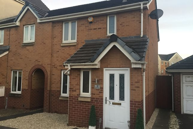 Thumbnail End terrace house to rent in Jersey Quay, Port Talbot, Neath Port Talbot.