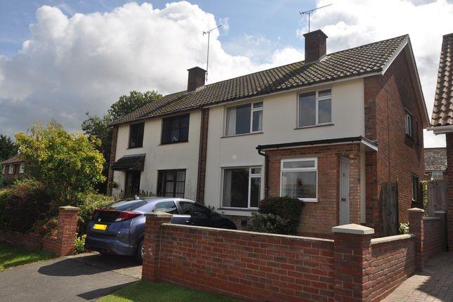 Thumbnail Semi-detached house for sale in Keightley Way, Tuddenham, Ipswich
