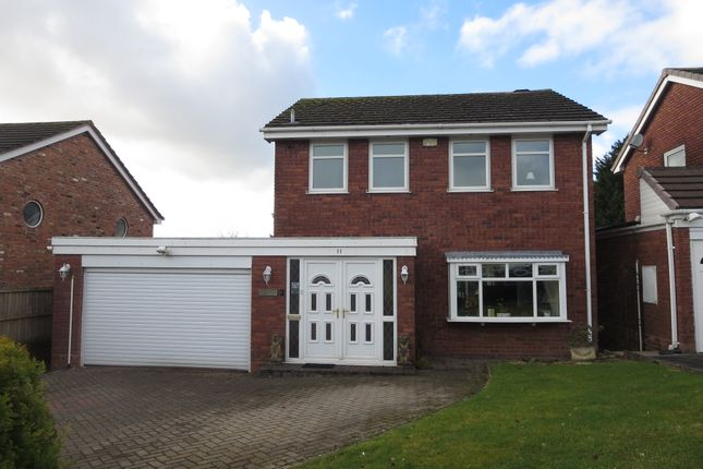 Thumbnail Detached house for sale in Beechwood Close, Clayton, Newcastle