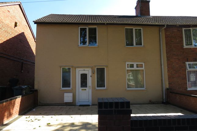 Thumbnail Semi-detached house for sale in Grange Street, Walsall