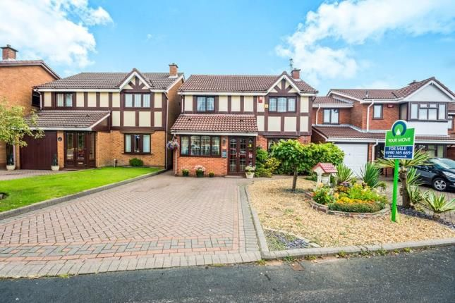 Thumbnail Detached house for sale in Lochalsh Grove, Willenhall, Wolverhampton, West Midlands