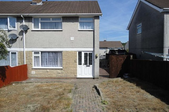 Thumbnail Semi-detached house to rent in St Mellons Court, St Martins Estate, Caerphilly