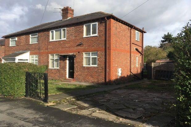 Thumbnail Semi-detached house to rent in Larkhill Road, Cheadle Hulme, Cheadle