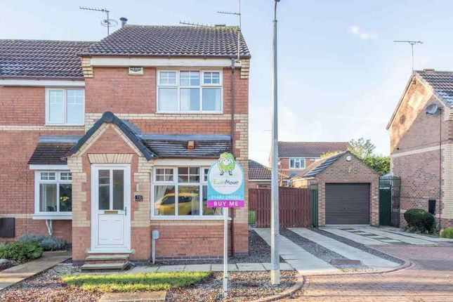 Thumbnail End terrace house for sale in Elderberry Drive, Hull