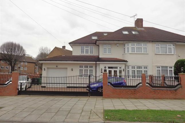 Thumbnail Semi-detached house for sale in Thorncliffe Road, Norwood Green, Middlesex