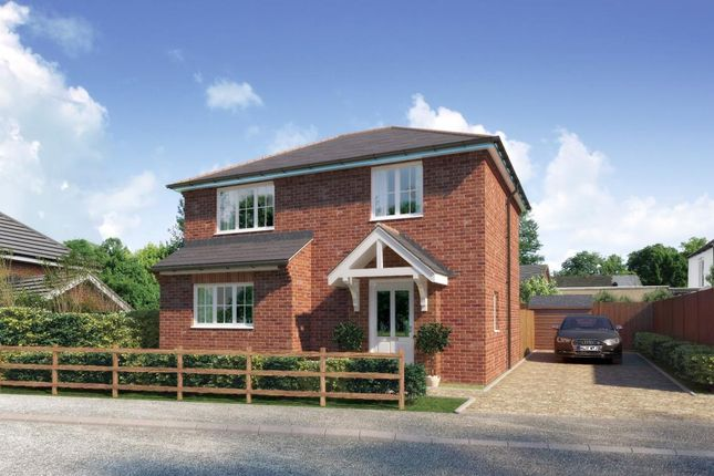 Thumbnail Detached house for sale in Woodlands Road, Farnborough