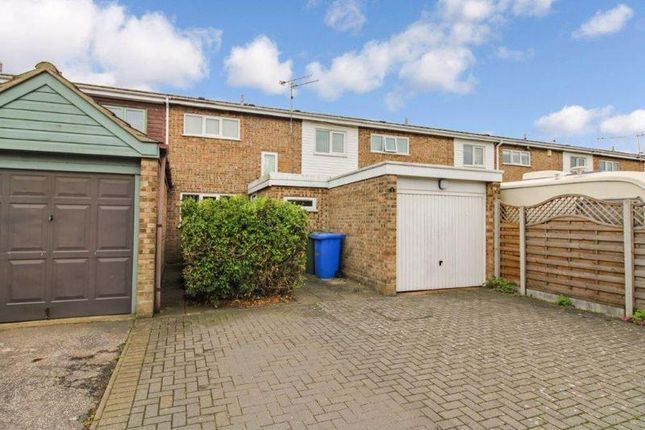 Thumbnail Terraced house to rent in Elgar Close, Lowestoft