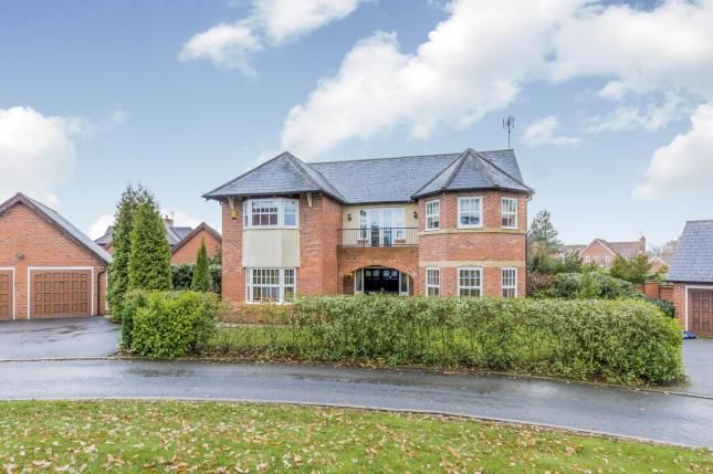 Thumbnail Detached house for sale in Springwater Drive, Weston, Crewe, Cheshire