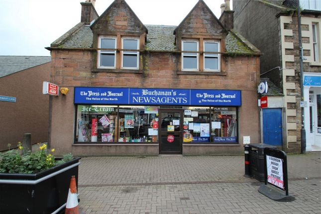 Thumbnail Commercial property for sale in Buchanans Newsagents, 88 High Street, Invergordon, Highland