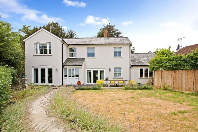 Thumbnail Detached house to rent in Old Frensham Road, Lower Bourne, Farnham