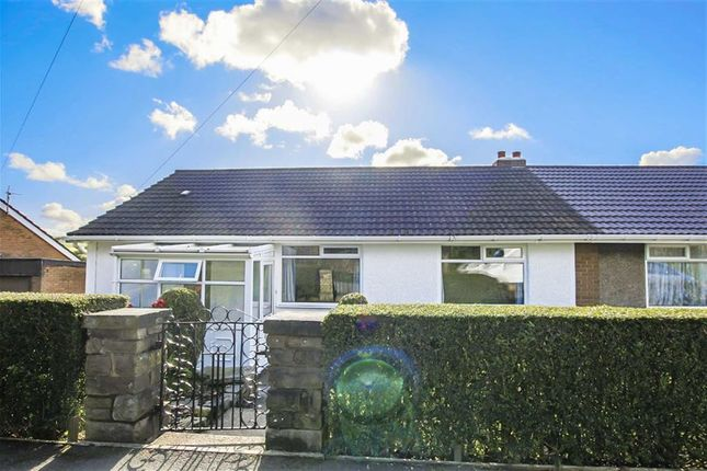 Thumbnail Semi-detached bungalow for sale in Back Lane, Baxenden, Lancashire