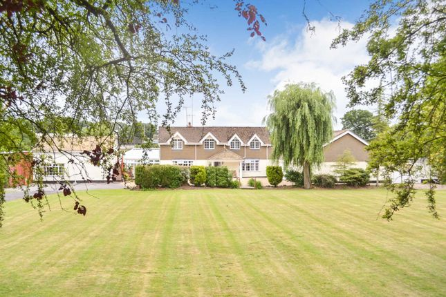 Thumbnail Detached house for sale in Braydon Road, Braydon, Wiltshire