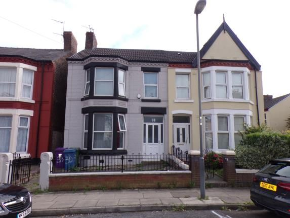 Front of Edge Grove, Fairfield, Liverpool, Merseyside L7