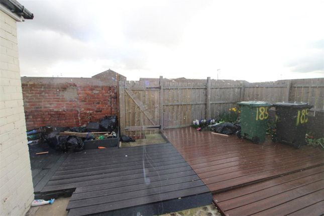 Rear Garden of West View Road, Hartlepool, County Durham TS24