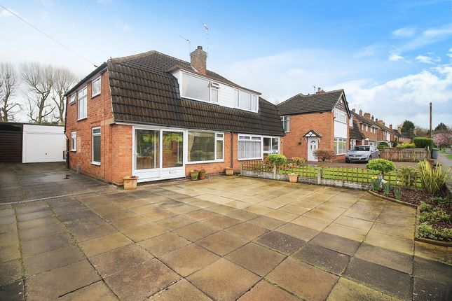 Thumbnail Semi-detached house for sale in Fallowfield Road, Solihull