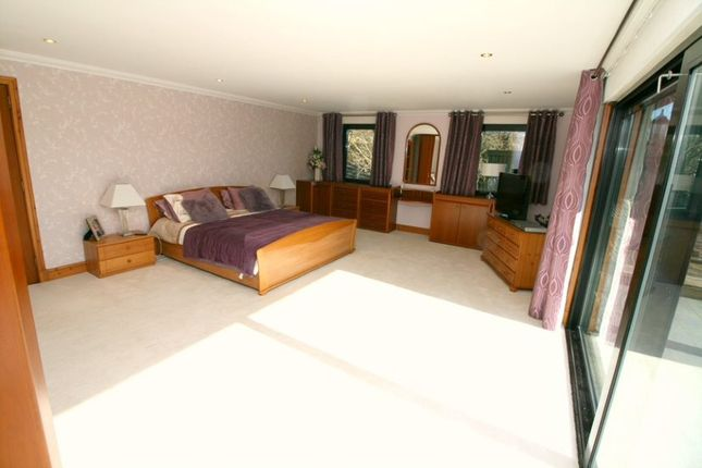 Master Bedroom of East Lodge, Cambusnethan Priory, Wishaw ML2