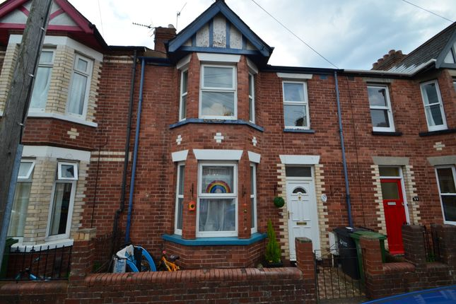3 bed terraced house for sale in Shaftesbury Road, St Thomas, Exeter EX2