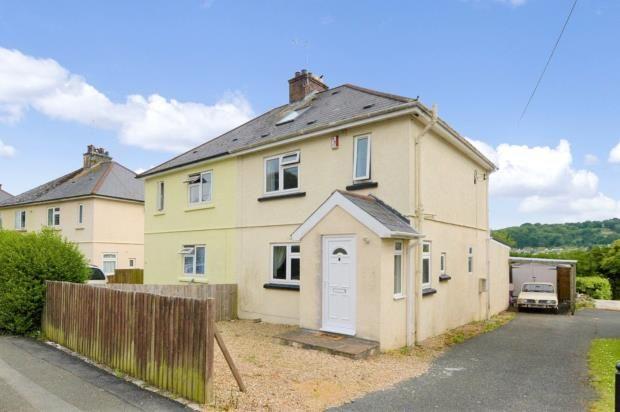 Thumbnail Semi-detached house for sale in Stone Barton Road, Plymouth, Devon
