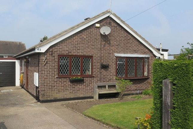 Thumbnail Detached bungalow to rent in Leyton Avenue, Sutton-In-Ashfield