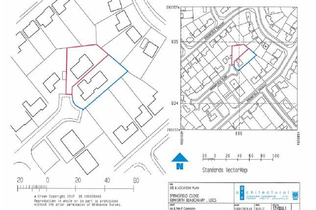 Building Plot of Springfield Close, Kibworth, Leicester LE8