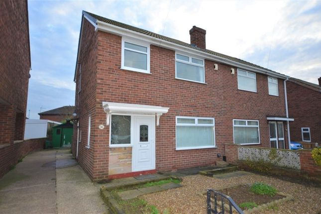 Thumbnail Semi-detached house to rent in South View Gardens, Pontefract