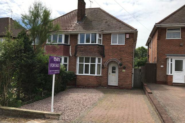 Thumbnail Semi-detached house for sale in Farlow Road, Northfield, Birmingham