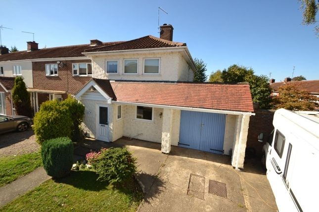Thumbnail Semi-detached house for sale in Chalcombe Road, Kingsthorpe, Northampton