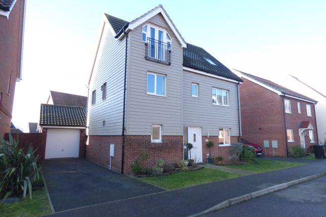 Thumbnail Detached house for sale in Lobelia Lane, Cringleford
