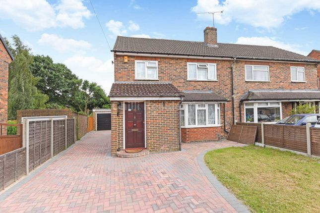 Thumbnail Semi-detached house to rent in Rivermead Road, Camberley