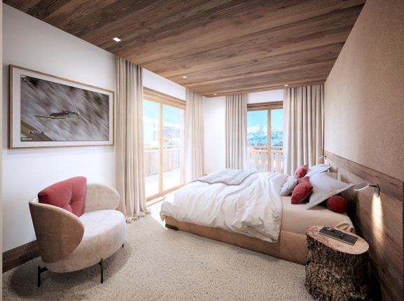 Bedrooms of Courchevel, Rhone Alps, France