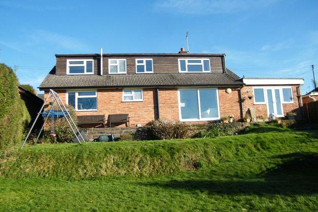 Thumbnail Detached house for sale in Westwinds, Wrigglebrook, Kingsthorne, Hereford.