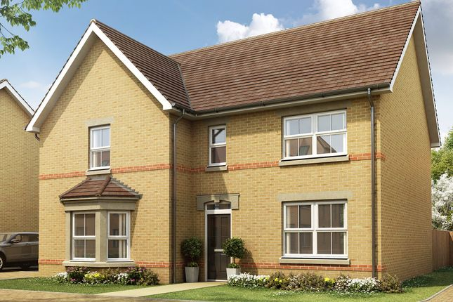 "Thumbnail Detached house for sale in ""Knightsbridge"" at Pedersen Way, Northstowe, Cambridge"