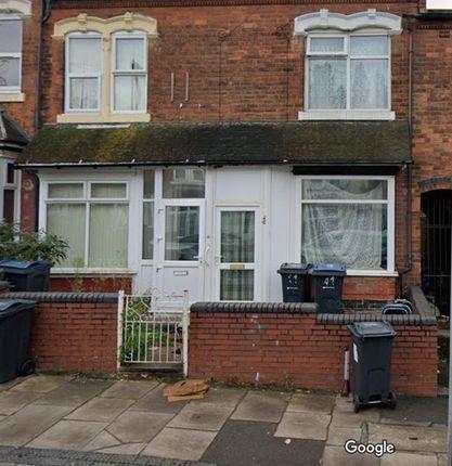 Thumbnail Property to rent in Alexandra Road, Handsworth, Birmingham