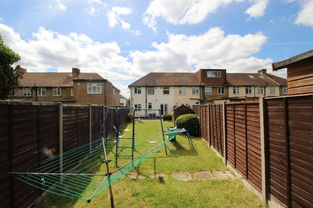 Thumbnail Terraced house for sale in Cranford Avenue, Stanwell, Staines