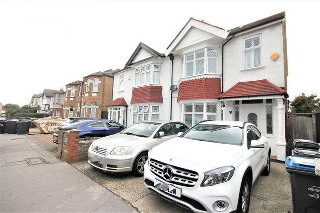 Thumbnail Semi-detached house for sale in Warwick Road, Thornton Heath